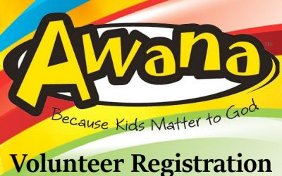 Awana Volunteer Registration