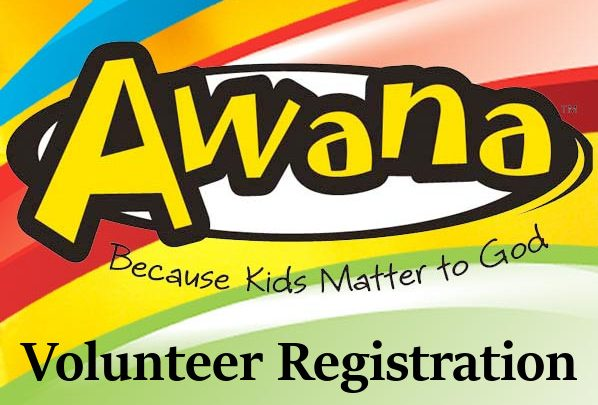 Awana Volunteer Registration