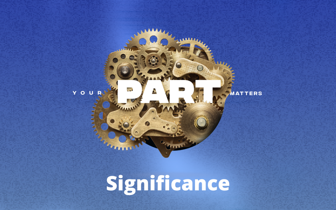 Your Part Matters: Significance