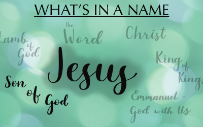 What's in a Name: Son of God