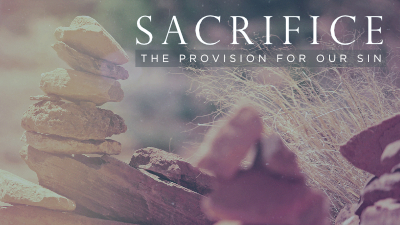Sacrifice: The Provision for Our Sin