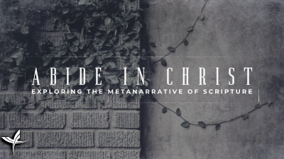 Abide in Christ: Exploring the Metanarrative of Scripture