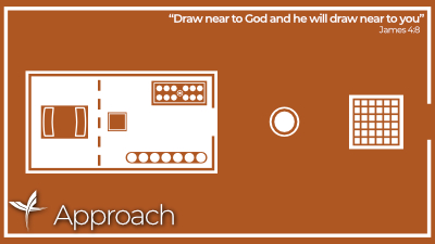 Approach: 'Draw near to God and he will draw near to you'